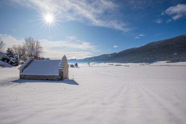 Le val d'Autrans-Méaudre sous la neige