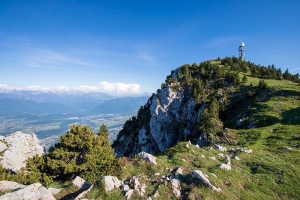 Le sommet du Moucherotte, massif du Vercors