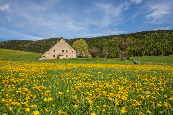 La ferme de la Balme, à Méaudre