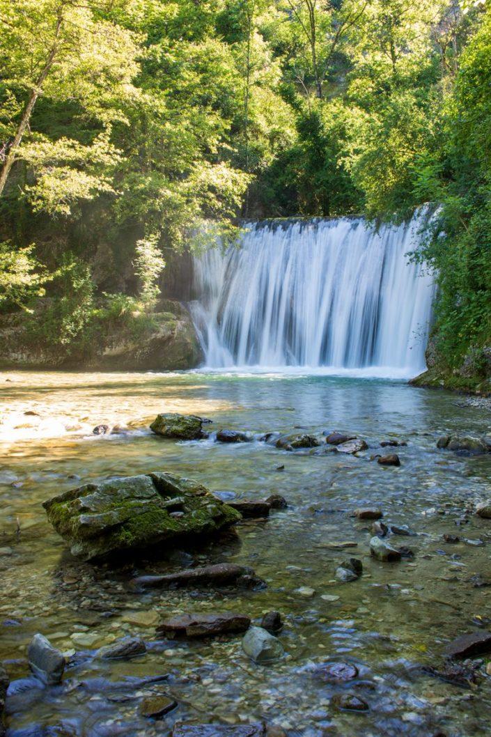 La cascade Blanche de Sainte-Eulalie-en Royans