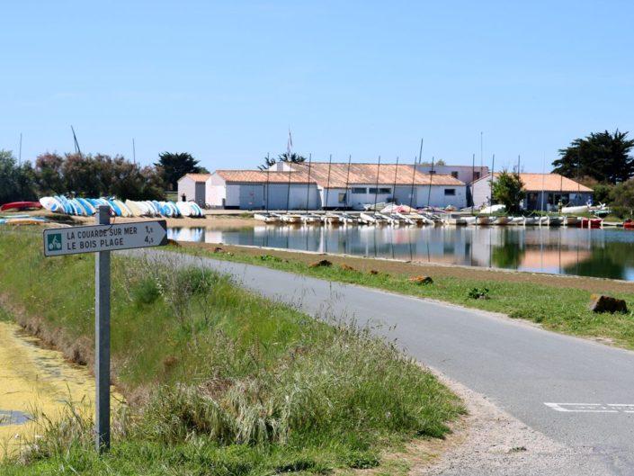 Centre Nautique Couardais de Goisil sur l'île de Ré