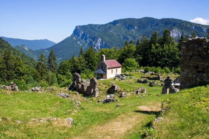 Chapelle du hameau de Valchevrière