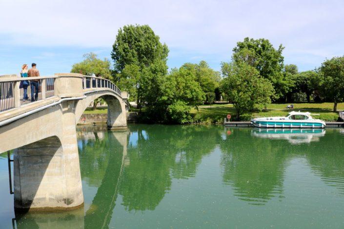 Le fleuve Charente à Saintes
